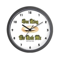 One Ring Wall Clock