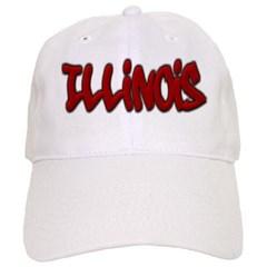 Illinois Graffiti Baseball Cap