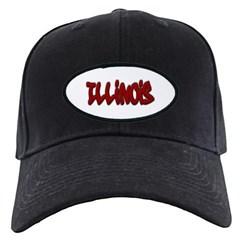 Illinois Graffiti Baseball Hat