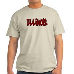 Illinois Graffiti Classic T-Shirt