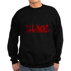 Illinois Graffiti Dark Sweatshirt