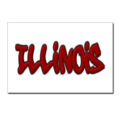 Illinois Graffiti Postcards (Package of 8)