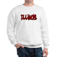 Illinois Graffiti Sweatshirt