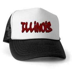 Illinois Graffiti Trucker Hat