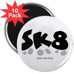 """SK8 2.25"""" Magnet (10 pack)"""
