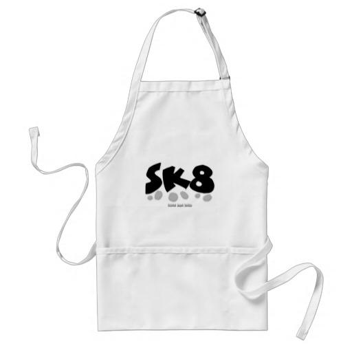SK8 Adult Apron
