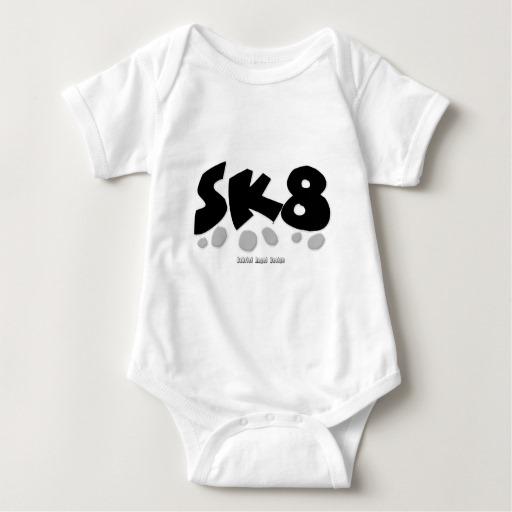 SK8 Baby Jersey Bodysuit
