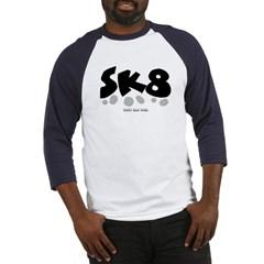 SK8 Baseball Jersey T-Shirt