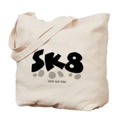 SK8 Canvas Tote Bag