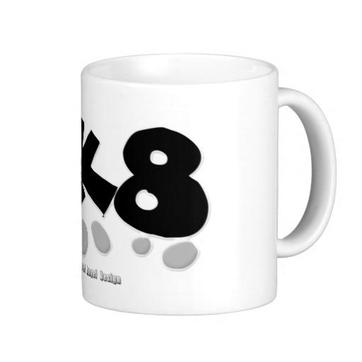 SK8 Classic White Mug