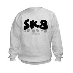 SK8 Kids Crewneck Sweatshirt by Hanes