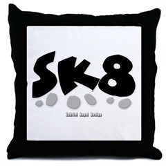SK8 Throw Pillow