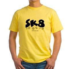 SK8 Yellow T-Shirt