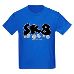 SK8 Youth Dark T-Shirt by Hanes