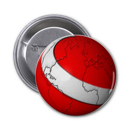 Scuba World 2 Inch Round Button