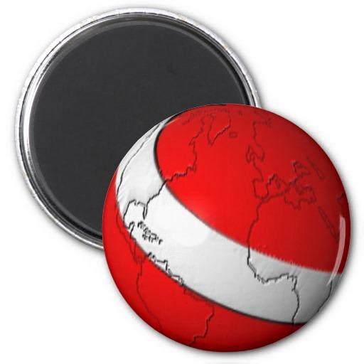 Scuba World 2 Inch Round Magnet