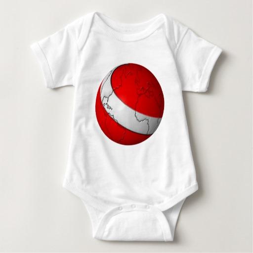Scuba World Baby Jersey Bodysuit