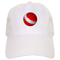 Scuba World Baseball Cap