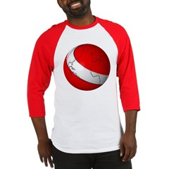 Scuba World Baseball Jersey T-Shirt