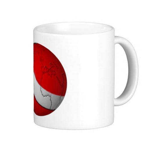Scuba World Classic White Mug