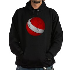 Scuba World Hooded Dark Sweatshirt