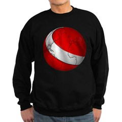 Scuba World Dark Sweatshirt