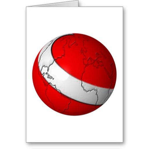 Scuba World Greeting Card