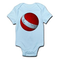 Scuba World Infant Bodysuit