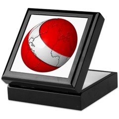Scuba World Keepsake Box