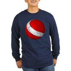 Scuba World Long Sleeve Dark T-Shirt