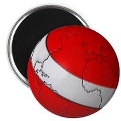 Scuba World Magnet