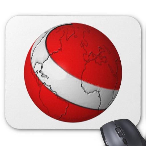 Scuba World Mousepad
