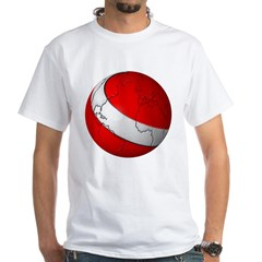 Scuba World White T-Shirt