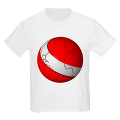 Scuba World Youth T-Shirt by Hanes