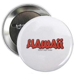 """Hawaii Graffiti 2.25"""" Button"""