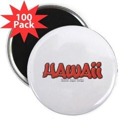 """Hawaii Graffiti 2.25"""" Magnet (100 pack)"""