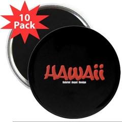 """Hawaii Graffiti 2.25"""" Magnet (10 pack)"""