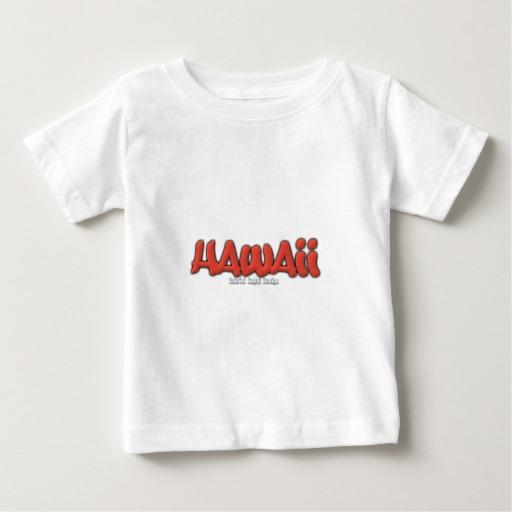 Hawaii Graffiti Baby Fine Jersey T-Shirt