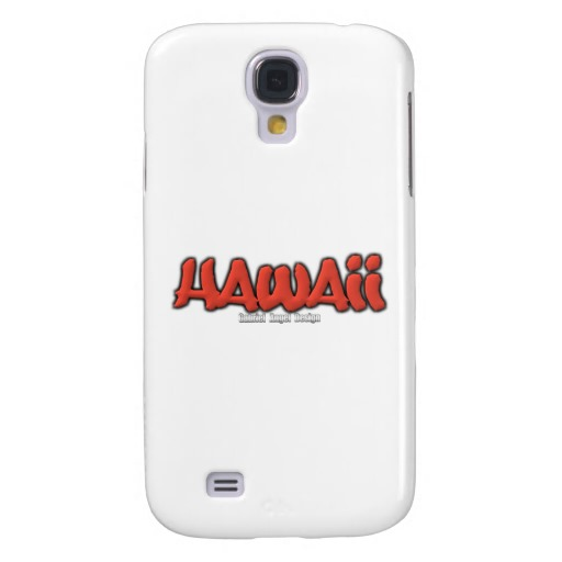 Hawaii Graffiti Case-Mate Barely There Samsung Galaxy S4 Case