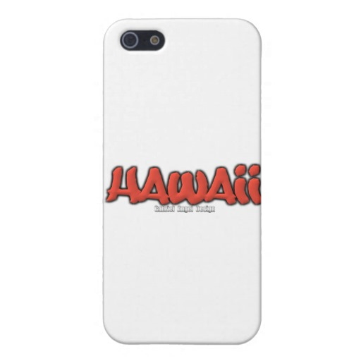 Hawaii Graffiti Case Savvy Matte Finish iPhone 5/5S Case