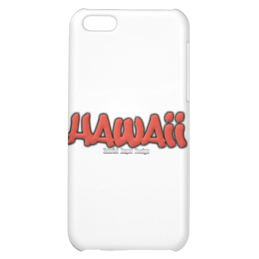 Hawaii Graffiti Case Savvy Matte Finish iPhone 5C Case