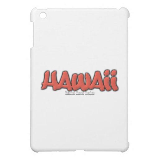 Hawaii Graffiti iPad Mini Matte Finish Case