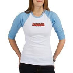 Hawaii Graffiti Junior Raglan T-shirt