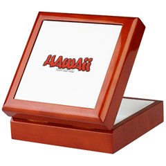 Hawaii Graffiti Keepsake Box