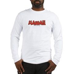 Hawaii Graffiti Long Sleeve T-Shirt