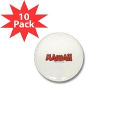 Hawaii Graffiti Mini Button (10 pack)