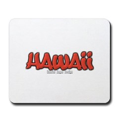 Hawaii Graffiti Mousepad