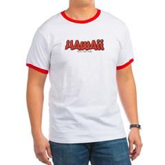 Hawaii Graffiti Ringer T-Shirt