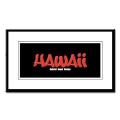 Hawaii Graffiti Small Framed Print