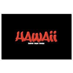 Hawaii Graffiti Small Posters
